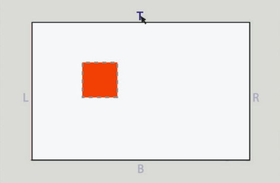clicking a symbol at the edge of the canvas