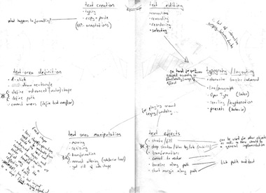 handwritten analysis notes